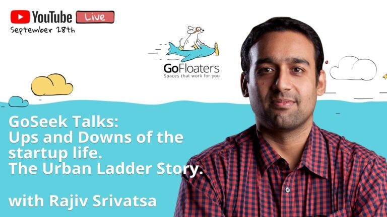 Ups and Downs of Startup Life ft. Rajiv Srivatsa